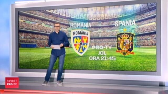 ROMANIA - SPANIA: Tatarusanu anunta un capitan surpriza la Nationala: \
