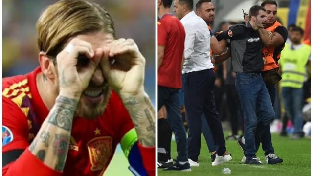 Explicația lui Sergio Ramos pentru gestul de la meciul cu România