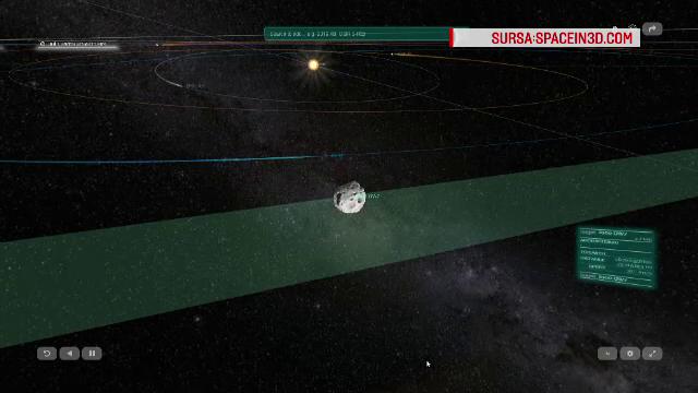 Doi asteroizi au trecut sâmbătă noapte, pe lângă Pământ. De ce au fost urmăriți atent
