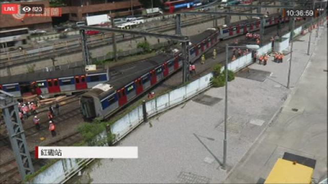 Tren deraiat în Hong Kong: sunt mai multe victime. VIDEO - Imaginea 3
