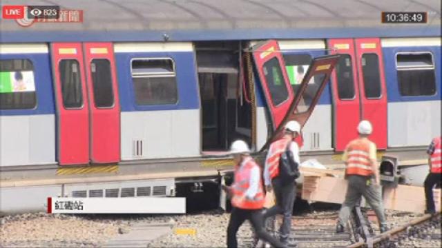Tren deraiat în Hong Kong: sunt mai multe victime. VIDEO - Imaginea 4
