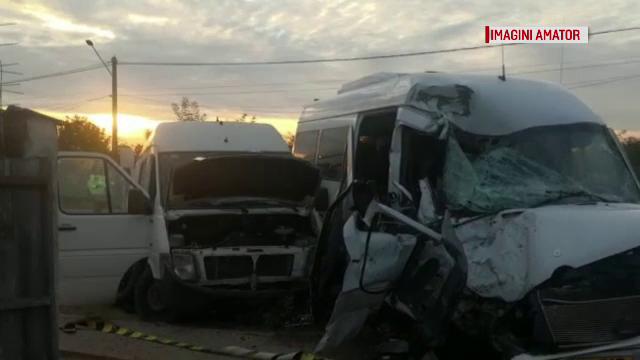 Accident grav pe DN2, în apropierea Capitalei. Starea celor 14 răniţi