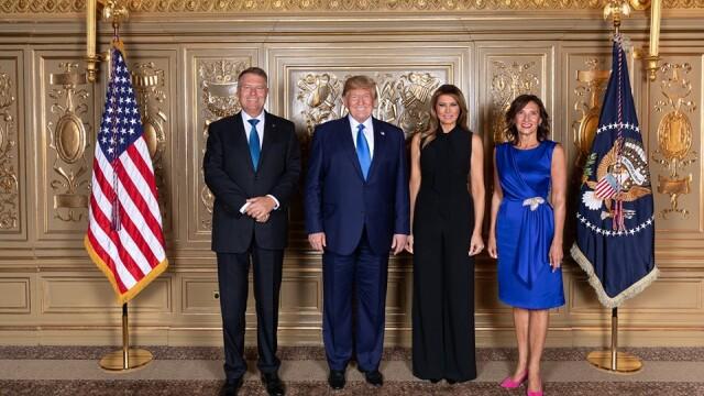 Klaus Iohannis s-a întâlnit cu Donald Trump la Adunarea Generală a ONU