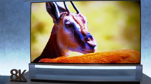 televiziune, 4K, 8K
