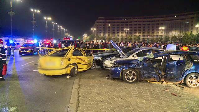Accident in Bucuresti