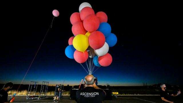 Cascadoria uimitoare realizată de iluzionistul David Blaine. Ce a reușit să facă cu 52 de baloane colorate - Imaginea 7