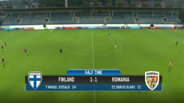 Finlanda U21 - România U21, 1-3. Victorie pentru Mutu, în primul său meci ca selecționer al echipei de tineret - Imaginea 5