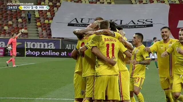 România - Irlanda de Nord, 1-1. Tricolorii ratează dramatic victoria în primul meci din noua ediție a Ligii Națiunilor - Imaginea 7
