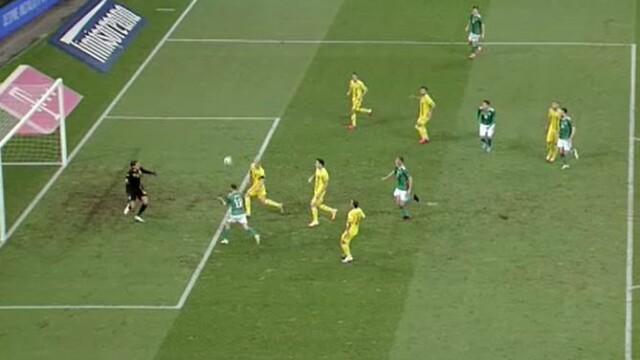 România - Irlanda de Nord, 1-1. Tricolorii ratează dramatic victoria în primul meci din noua ediție a Ligii Națiunilor - Imaginea 8
