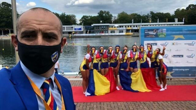 Zece medalii, dintre care cinci de aur, pentru România la Campionatul European de canotaj under 23 - Imaginea 2