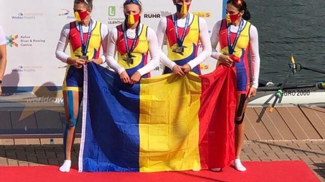 Zece medalii, dintre care cinci de aur, pentru România la Campionatul European de canotaj under 23 - Imaginea 3