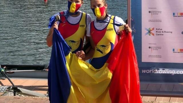 Zece medalii, dintre care cinci de aur, pentru România la Campionatul European de canotaj under 23 - Imaginea 4