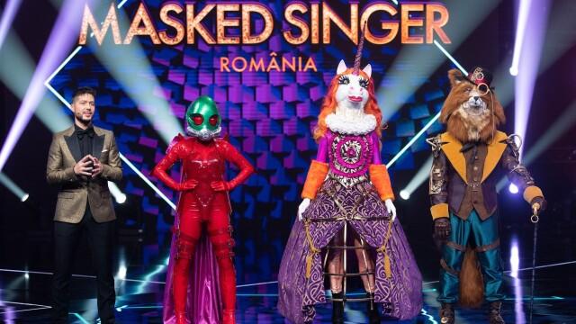 Ce vedetă şi-a scos masca în prima ediţie Masked Singer România. Cine era