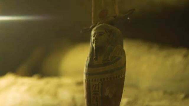 Arheologii au descoperit 13 sicrie misterioase într-o fântână din Egipt. Ce se află în ele. VIDEO - Imaginea 4