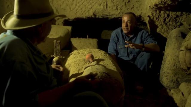 Arheologii au descoperit 13 sicrie misterioase într-o fântână din Egipt. Ce se află în ele. VIDEO - Imaginea 3