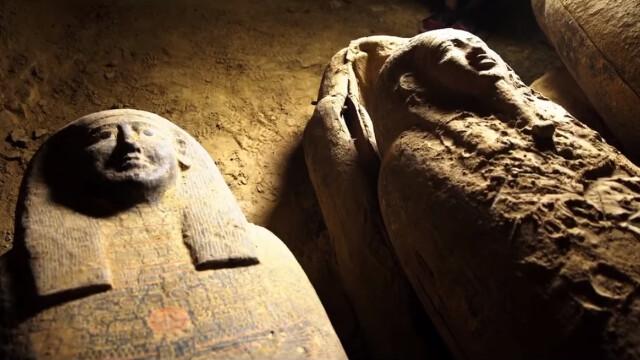 Arheologii au descoperit 13 sicrie misterioase într-o fântână din Egipt. Ce se află în ele. VIDEO - Imaginea 2