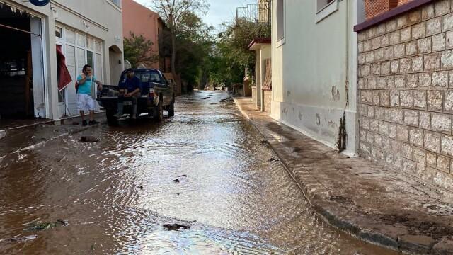 Insula Kefalonia, devastată de uraganul Ianos. Localnicii au rămas 2 zile fără apă și curent - Imaginea 3