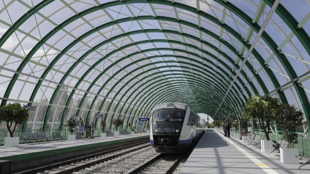 Trenul între Gara de Nord şi Aeroportul Otopeni va circula cu călători din 12 decembrie