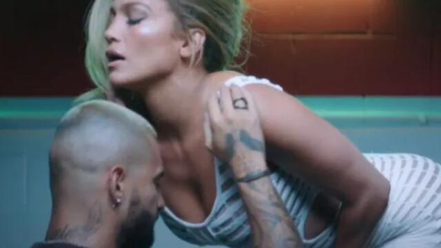"""Jennifer Lopez şi Maluma, în ipostaze incendiare în cel mai recent videoclip - """"Pa Ti"""" - Imaginea 7"""