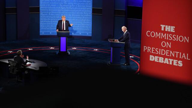 Alegeri SUA 2020. Prima dezbatere dintre Donald Trump și Joe Biden, marcată de haos și atacuri dure