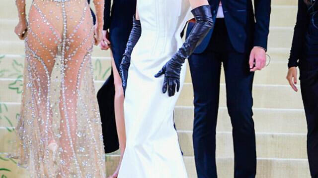 Covorul roșu, Met Gala 2021. Kim Kardashian și Naomi Osaka, apariții surprinzătoare. GALERIE FOTO - Imaginea 9