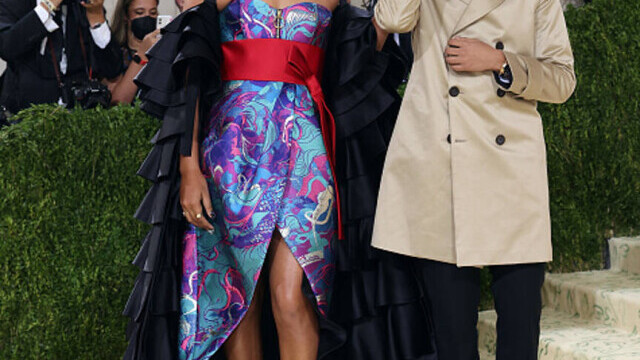 Covorul roșu, Met Gala 2021. Kim Kardashian și Naomi Osaka, apariții surprinzătoare. GALERIE FOTO - Imaginea 13
