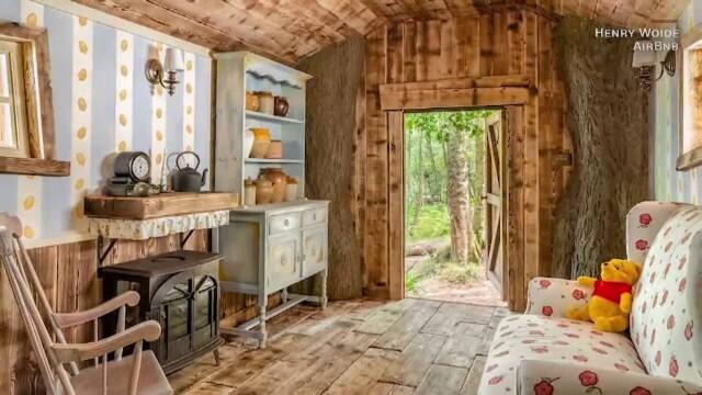 O casă care arată exact ca a lui Winnie de Pluș poate fi închiriată cu 95 de lire pe noapte. Unde este situată. GALERIE FOTO - Imaginea 4