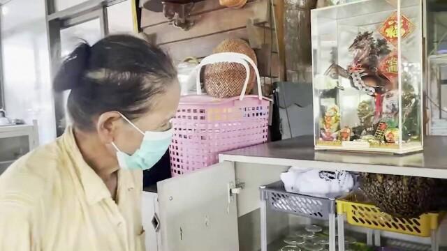 Stup de albine uriaș, descoperit în bucătăria unui restaurant. Motivul pentru care nu vor fi înlăturate. GALERIE FOTO - Imaginea 2
