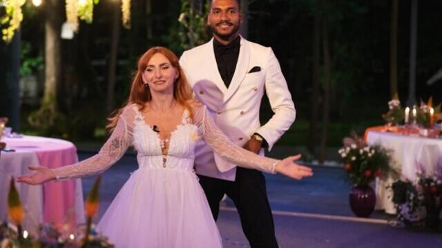 """""""Căsătoriți pe nevăzute"""". Georges și Cristina s-au căsătorit, în ciuda criticilor părinților ei - Imaginea 2"""