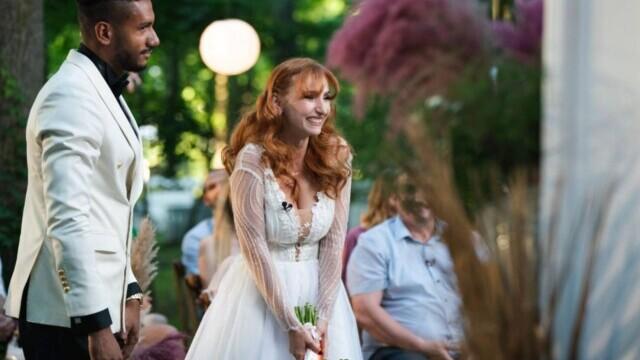 """""""Căsătoriți pe nevăzute"""". Georges și Cristina s-au căsătorit, în ciuda criticilor părinților ei - Imaginea 3"""