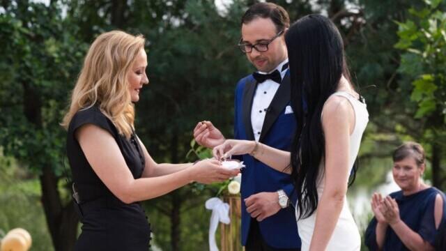"""""""Căsătoriți pe nevăzute"""". Loredana și Daniel, al treilea cuplu care a spus DA. Primele reacții. VIDEO - Imaginea 1"""