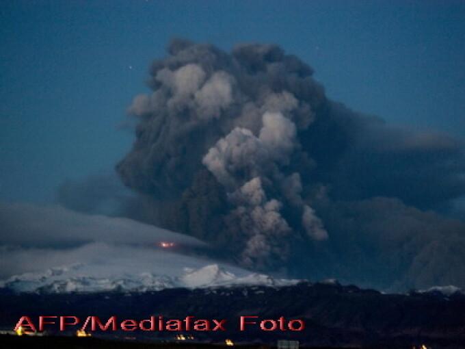 Eruptia vulcanului