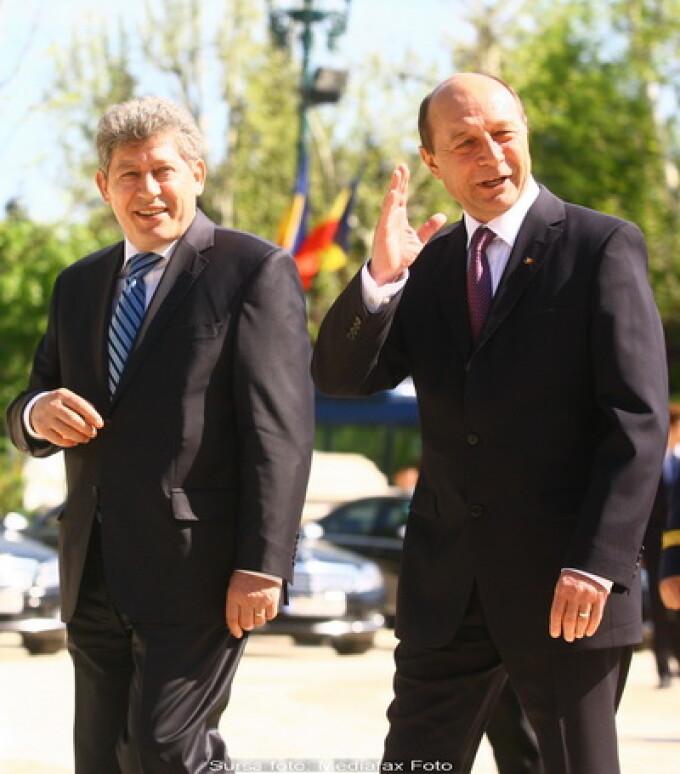 Mihai Ghimpu, Traian Basescu