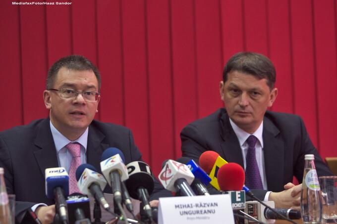 Mihai Razvan Ungureanu si Gabriel Berca