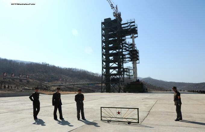 Racheta in Coreea de Nord