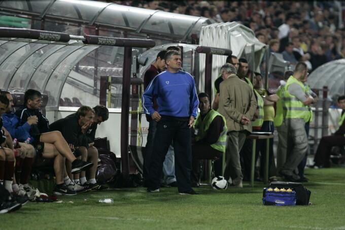 CFR-Poli Iasi 0-0 a fost ultimul meci al lui Andone pe banca visiniilor, in toamna lui 2008