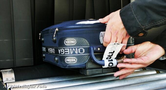 valiza, pasageri, aeroport
