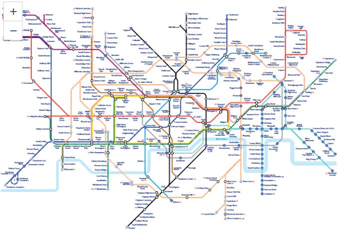 Imaginati Va O Retea De Metrou Care Uneste Toata Lumea Proiect