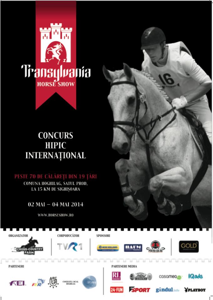 Transylvania Horse Show 2014. Iubitorii sporturilor ecvestre se pregatesc de cel mai cunoscut concurs hipic international