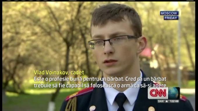 Vlad Voinakov, cadet