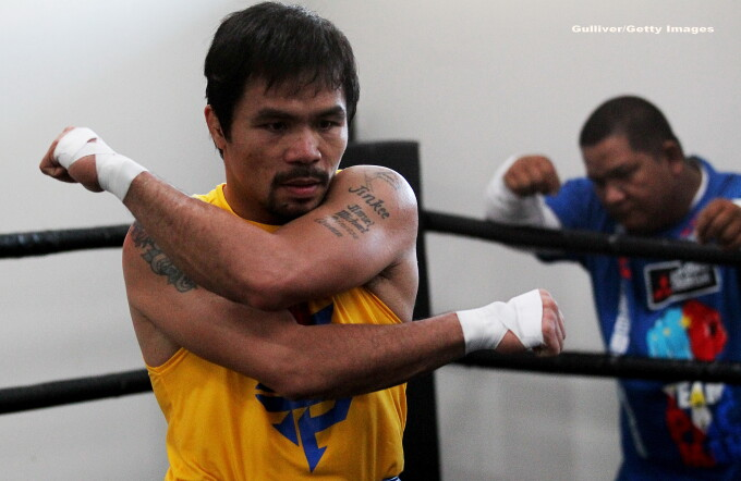 Manny Pacquiao - GETTY