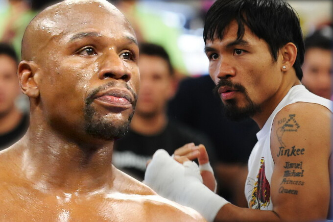 Floyd Mayweather, Manny Pacquiao - sport