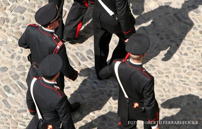 carabinieri italieni FOTO FLICKR