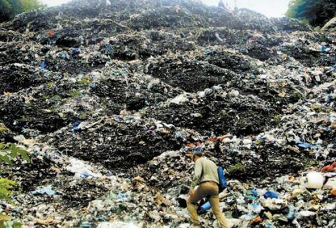 groapa de gunoi Mexic
