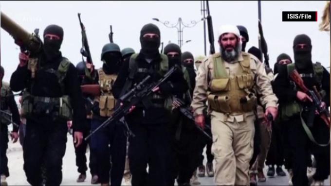 luptatori ISIS