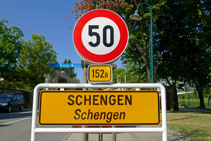 schengen getty