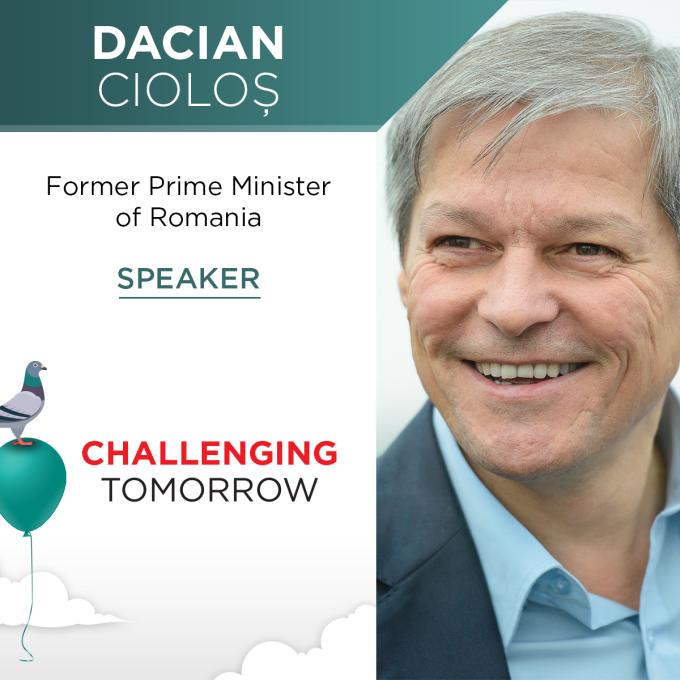 Dacian Ciolos va fi speaker la TEDxEroilor - Challenging Tomorrow