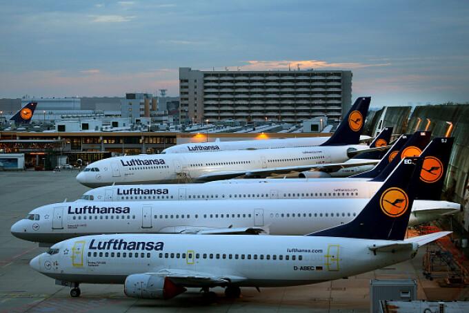 Lufthansa, zboruri anulate,
