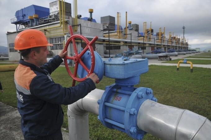 Gazprom, alimentare gaze