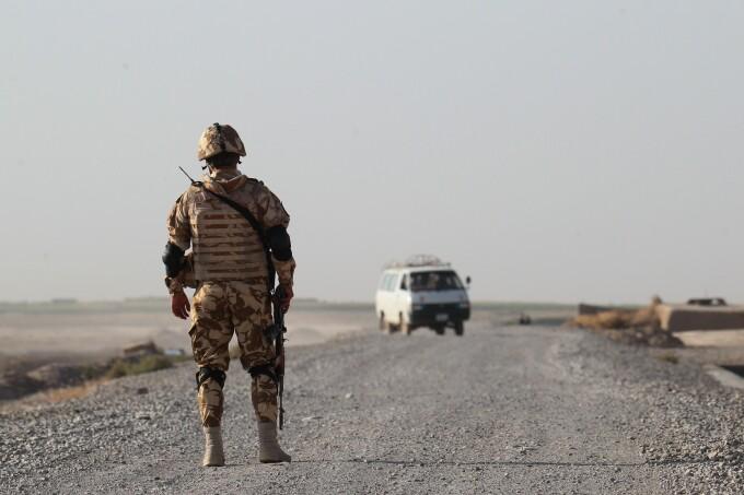 soldati romani in afganistan